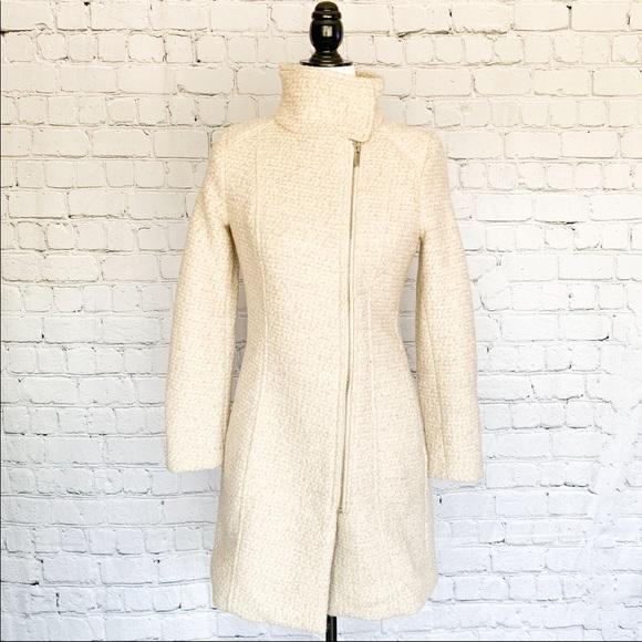 H&M Coat - Cream/Beige
